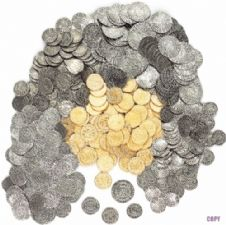 500 MEDIEVAL COINS